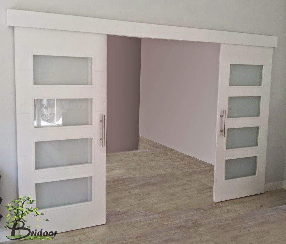 Ventajas y desventajas de las puertas correderas - Cristales puertas interiores ...